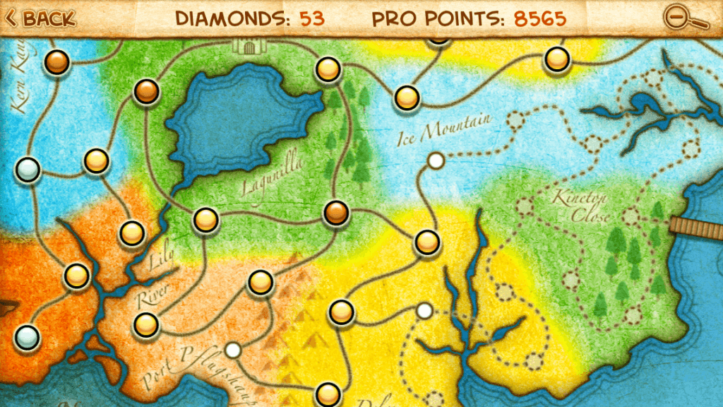 The huge map boasts 80 varied levels.