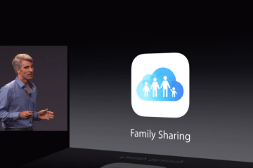 Apple announces Family Sharing