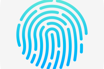 Touch ID Blue
