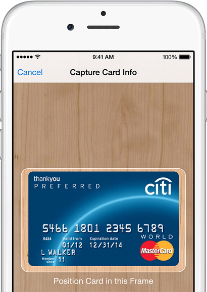 how to add membership apple pay
