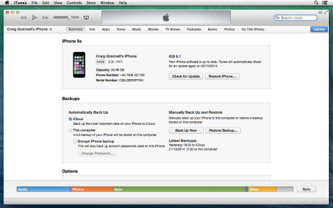 Use iTunes to upgrade if you lack free space.