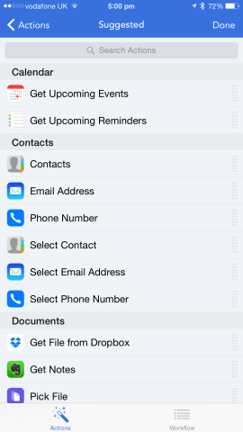 The limits for what iPhone owners can achieve using Workflow are pretty endless.