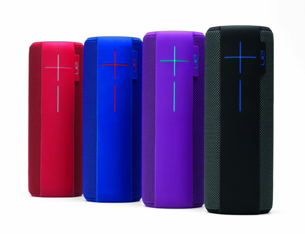 Each UE Megaboom comes with the same impressive feature set. The speakers are lightweight and look great.
