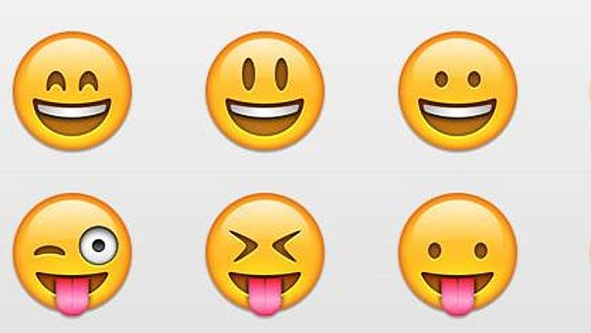 Some of the most common Emojis