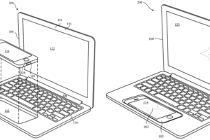 The illustrations clearly show the intended use for the potential new device